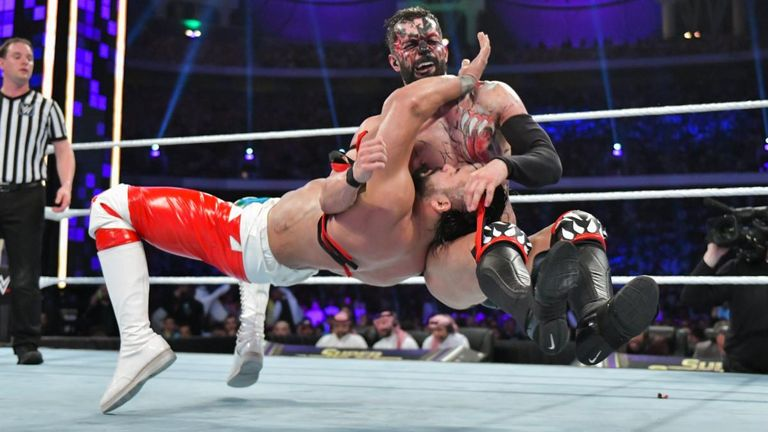 Finn Balor turned to the Demon to despatch Andrade