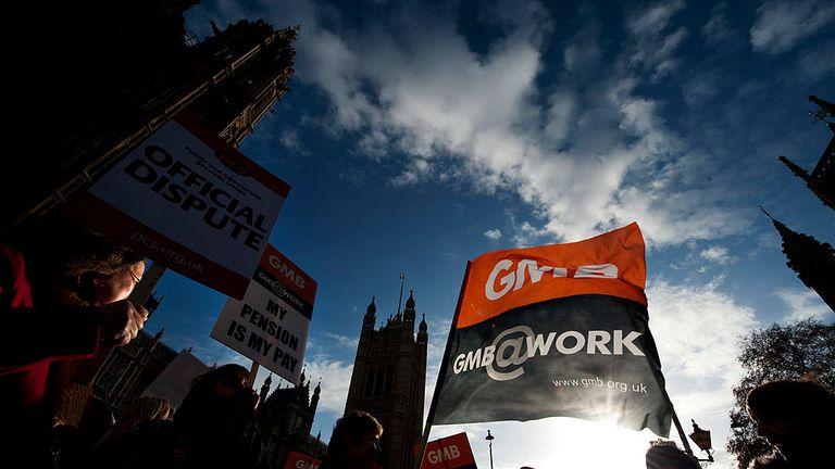 The GMB Union represents Brighton's groundstaff