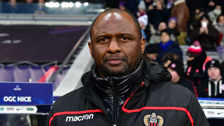 Nice would not welcome an approach for Patrick Vieira