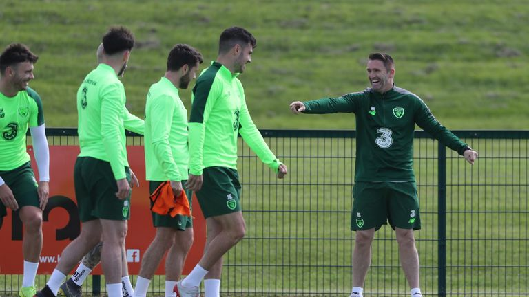 Republic of Ireland assistant Robbie Keane wants to clinch Euro 2020 qualification