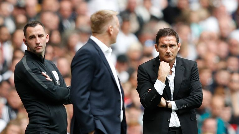 Frank Lampard, Derby manager