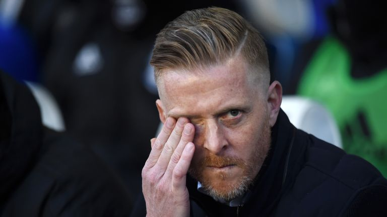 Garry Monk has been operating under a transfer embargo at Birmingham