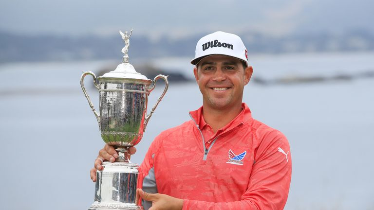 Gary Woodland won the US Open last year to claim his first Major title