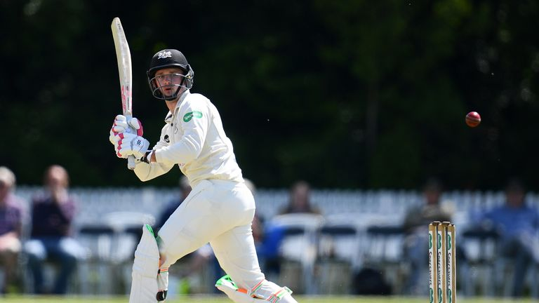Gareth Roderick hit 15 fours and a six off 246 deliveries