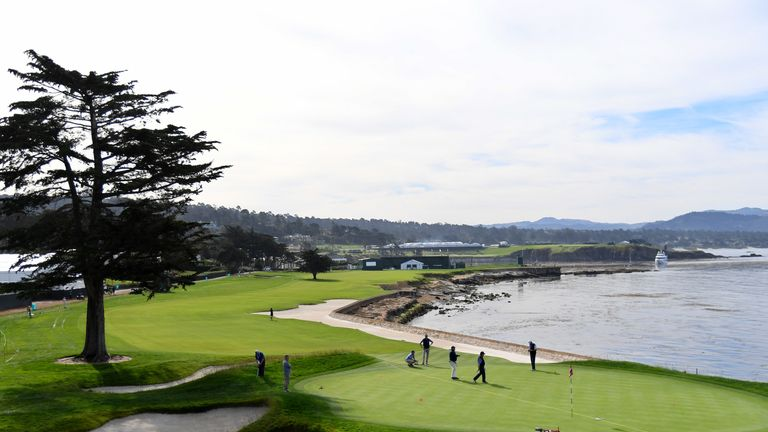 Day 1 at Pebble Beach