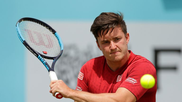 Gordon Reid played in an exhibition match at the Fever Tree Championship last year