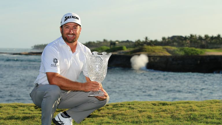 McDowell celebrates winning in the Dominican Republic in March