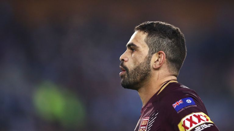 Former Queensland captain Greg Inglis retired last year