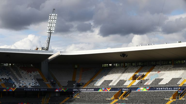 England take on the Netherlands on Thursday at the Estadio D. Afonso Henriques in Guimaraes