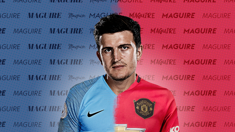 Harry Maguire is wanted by both Manchester United and Manchester City