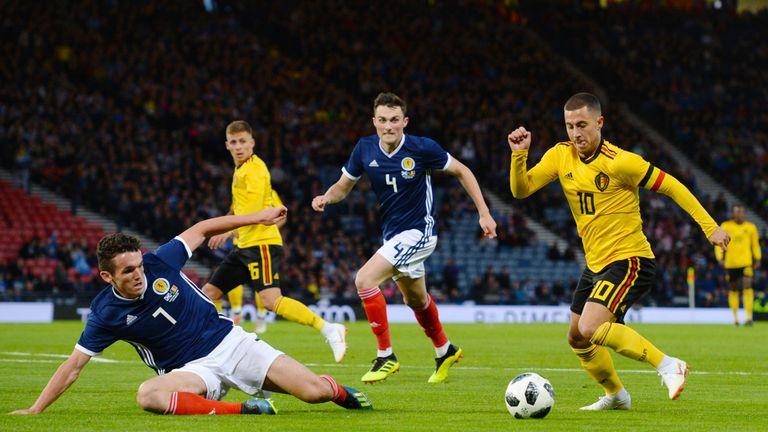 McGinn pursues Eden Hazard