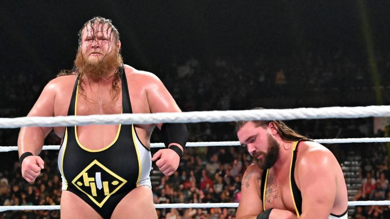 Heavy Machinery are widely regarded as one of the next big things in WWE