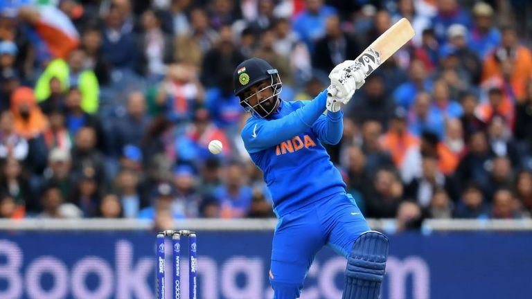 KL Rahul (pictured) and Rohit Sharma got India off to a solid start