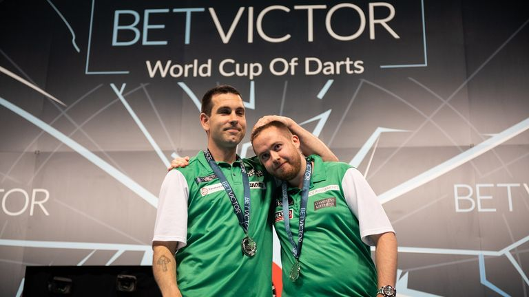 Ireland pair Willie O'Connor and Steve Lennon stunned England, Austria and Netherlands en route to the World Cup of Darts final