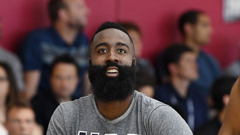 James Harden looks set to be the star attraction at the World Cup in China