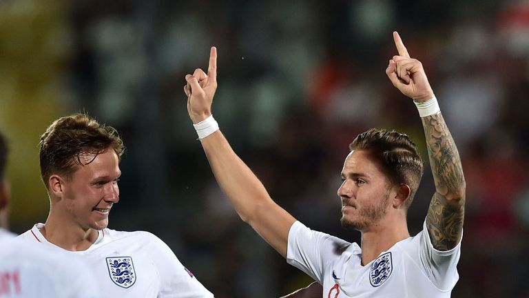 James Maddison was England's man of the match
