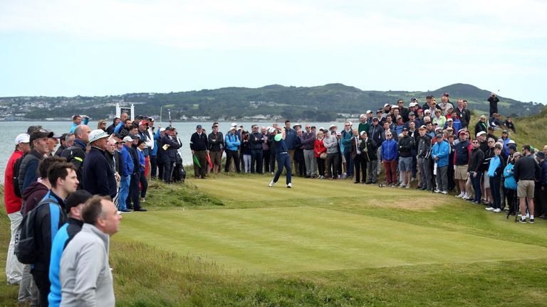 Sugrue enjoyed a huge following around Portmarnock