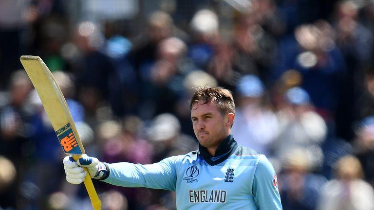 Jason Roy, England, century at Cricket World Cup vs Bangladesh in Cardiff