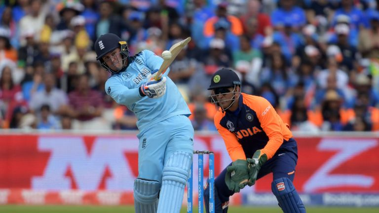 Jason Roy struck 66 on his England return at the top of the order