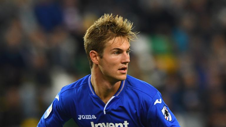 Spurs and Arsenal target Joachim Andersen says he is open to leaving Sampdoria