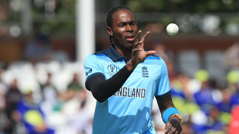Jofra Archer only made his one-day debut in May