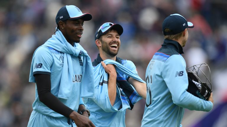 Jofra Archer and Mark Wood took three wickets apiece in the win over the West Indies