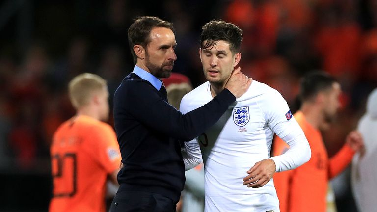 De Bruyne defended Manchester City team-mate Stones after his performance for England