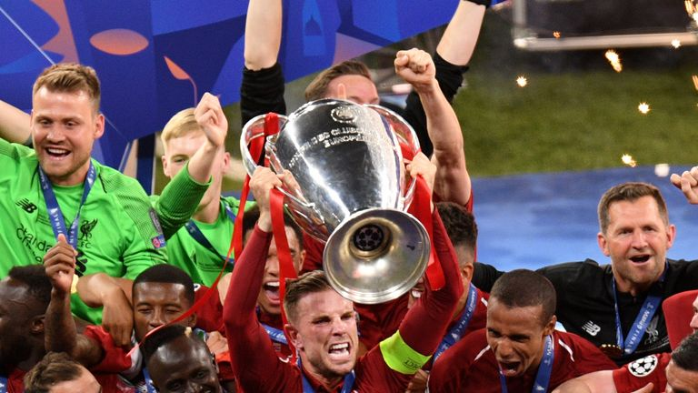 Jordan Henderson says Liverpool have hunger to match Manchester City by winning multiple trophies
