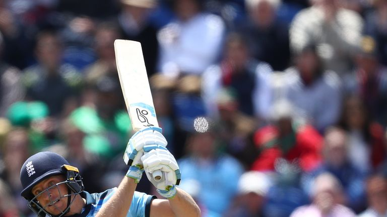 Jos Buttler is in a race to be fit for England's game with West Indies on Friday