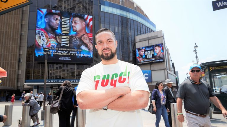 Joseph Parker is open to second fights against Andy Ruiz Jr and Anthony Joshua