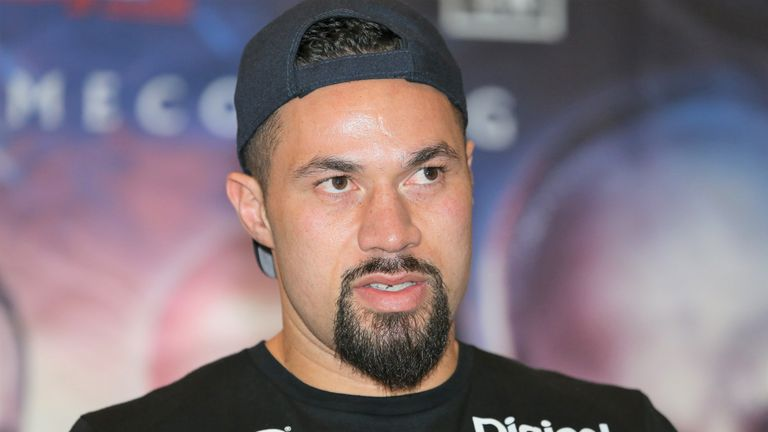 Joseph Parker is back against Junior Fa on Saturday