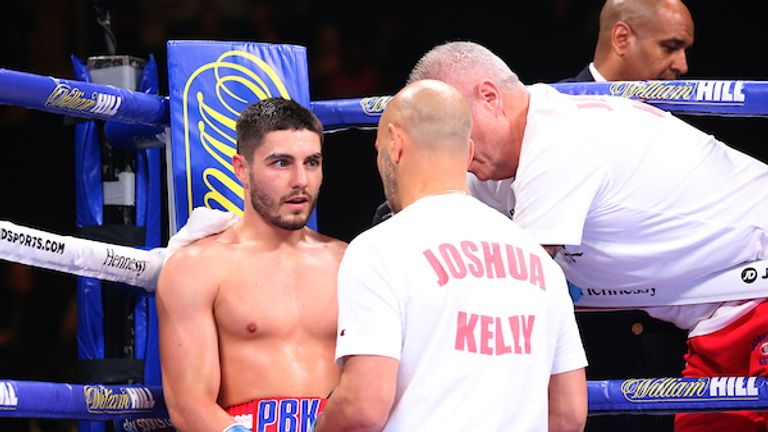 Josh Kelly is trained by Adam Booth