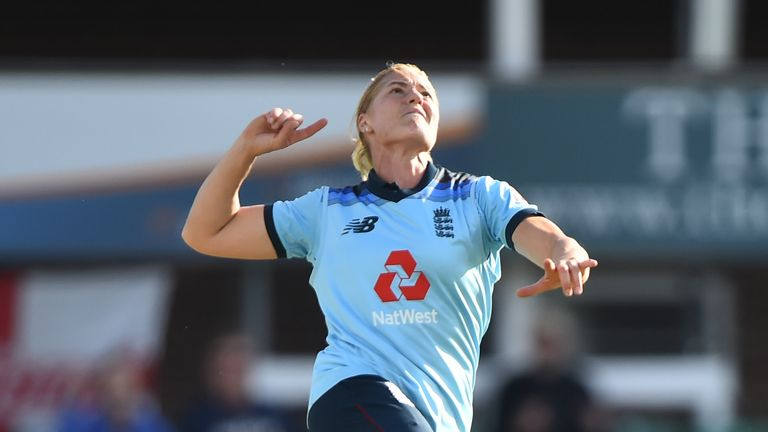 Katherine Brunt will sit out of England's third ODI against the West Indies at Chelmsford