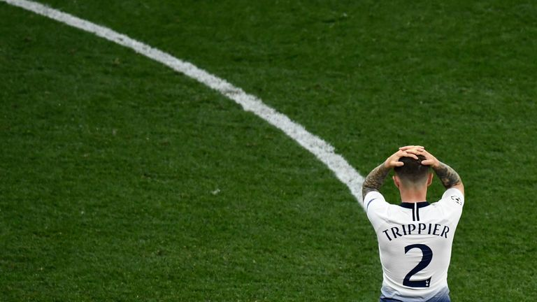 Trippier will not feature for England at the Nations League finals