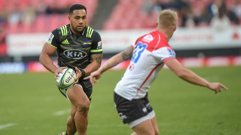 Ngani Laumape scored the opener as the Hurricanes won convincingly at the Lions