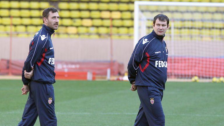 Laurent Banide takes Monaco training in 2011