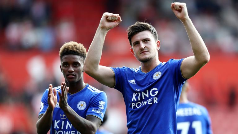 Maguire was outstanding for Leicester last season