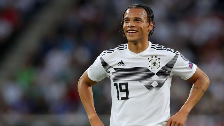 Leroy Sane scored three goals for Germany earlier this month