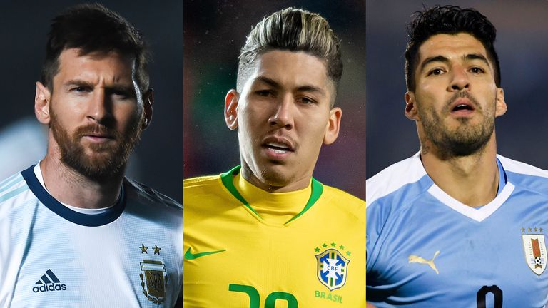 The Copa America gets under way in the early hours of June 15