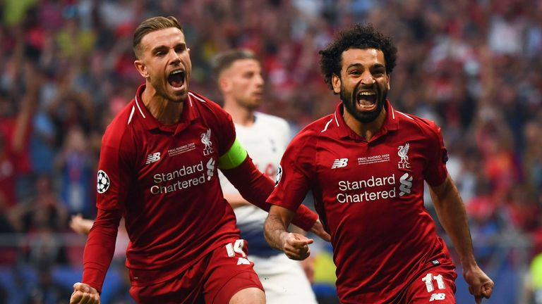 Mo Salah netted inside two minutes