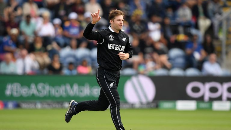 Lockie Ferguson has taken eight wickets at the World Cup at 12.67