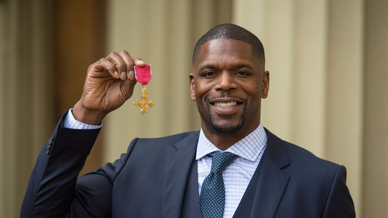 Mark Prince recently was awarded an OBE for his work and services to knife crime prevention