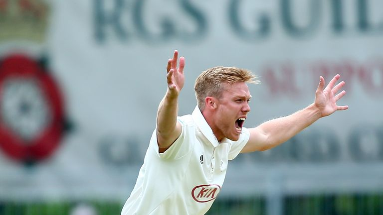 Matt Dunn claimed the first five-wicket haul of his career
