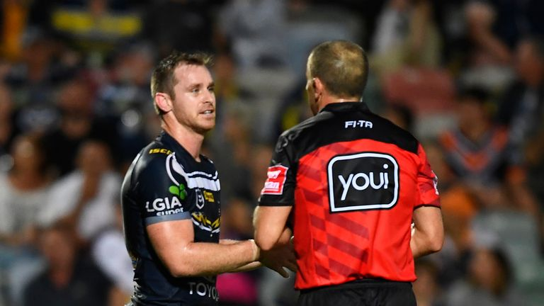 NRL talking points: Referee error costs North Queensland Cowboys, John Bateman earns more praise and interchange discussions   Rugby League News  
