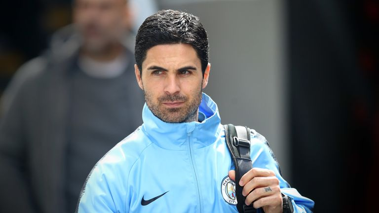 Arteta has been Pep Guardiola's assistant at Manchester City since July 2016