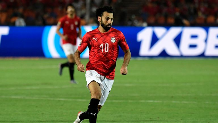 Mo Salah was bright in the AFCON opener, but had two clear chances in the second half