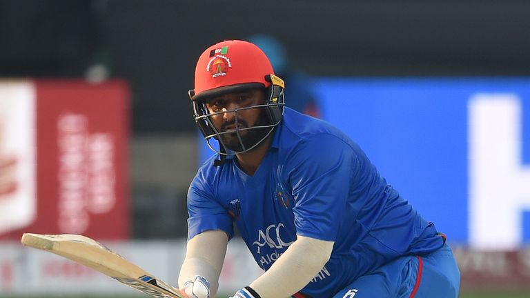 Mohammad Shahzad is Afghanistan's highest run scorer in one-day internationals