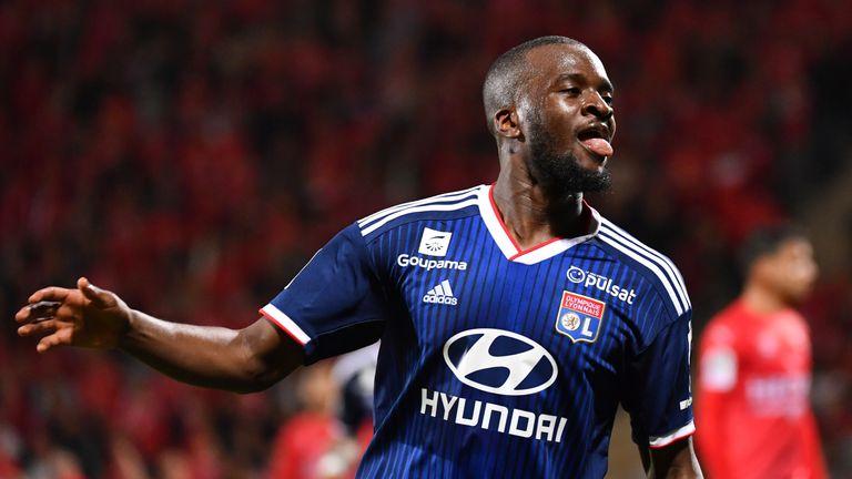 Tanguy Ndombele impressed for Lyon last season