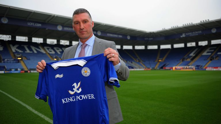 Leicester manager Nigel Pearson speaks to the media during a press conference at the King Power Stadium on November 16, 2011 in Leicester, England.