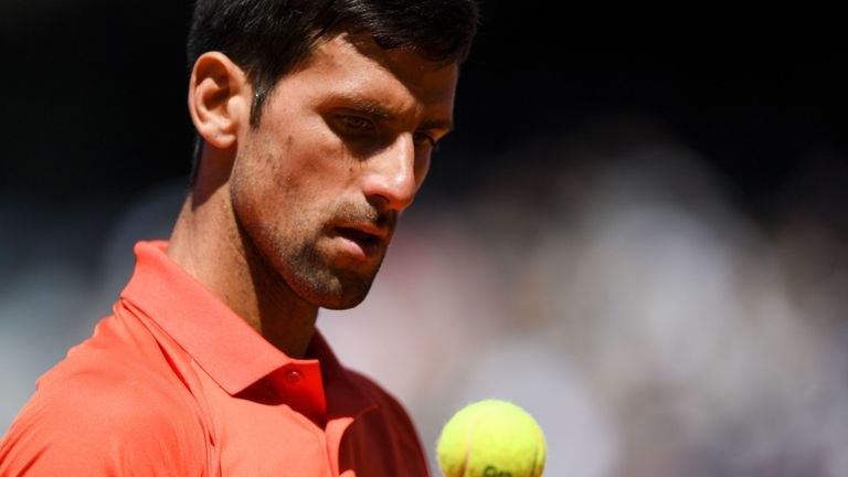 Novak Djokovic is still top of the men's rankings despite losing in the semi-finals of the French Open